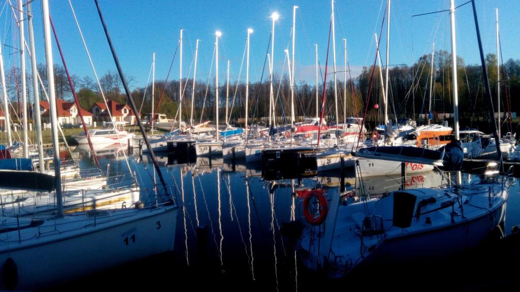 Widok na port Twist Czarter