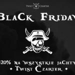 Black Firday - Czarter jachtu na mazurach