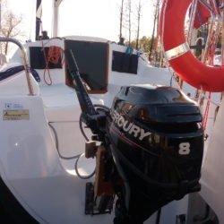 "Antila 26 CC ""Odyn"" - kokpit jachtu"